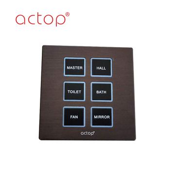wall touch switch smart home automation