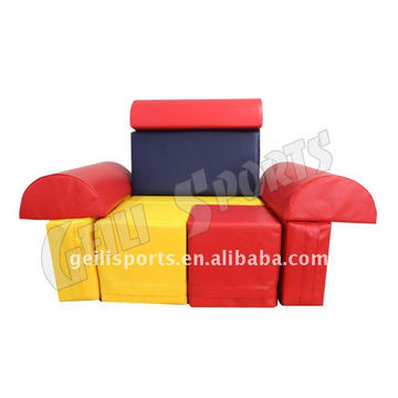 Educational Kids Building Block Indoor Soft Play