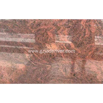 Multicolor Red Granite Dutse don Countertops