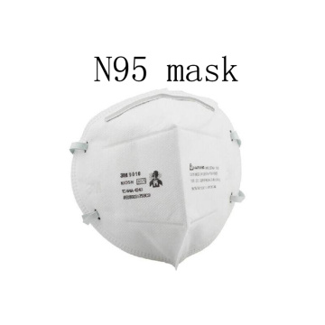 Protective three-layer dust-proof anti-fog breathable mask