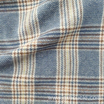 Woolen fashion Plaid  design brushed fabric