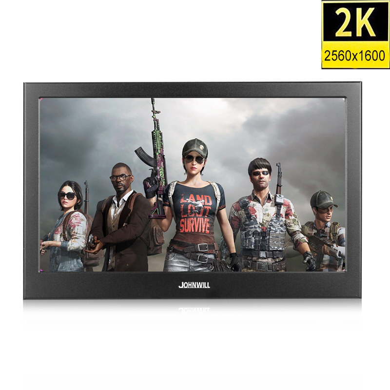 10.1 inch 2K 2560*1600 IPS Touch Screen Portable Gaming Monitor LED LCD Displays PS3/4 Xbox360 Tablet Display for Windows 7 8 10
