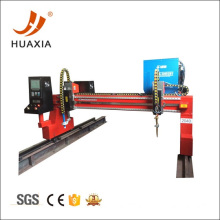 Gantry plasma cutter with 2 sets cutting torch