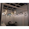 Modern Style Glass Pendant Lamp with multi lights