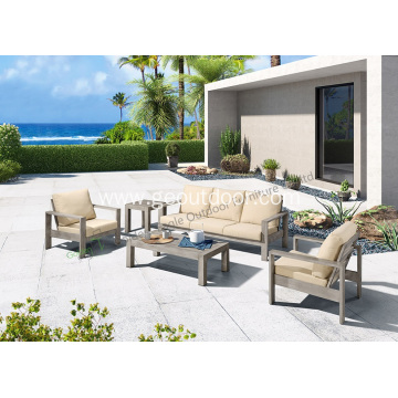 Leisure world homoe aluminum furniture sofa