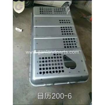 Hitachi EX200-6 Excavator Engine Hood Bonnet Panel