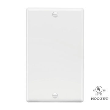 Gfci Electrical  Plastic Blank Wall Plate