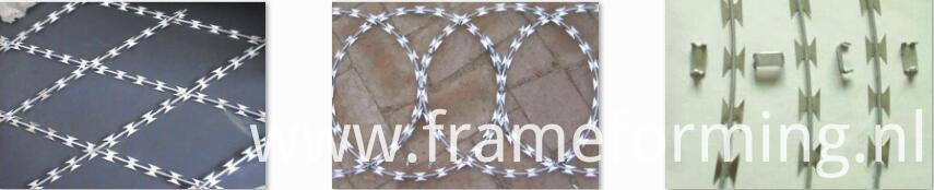 sample of Razor barbed wire