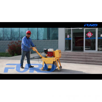 China FURD Mini Vibrating Road Roller Compactor For Sale
