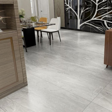 Marble effect wall and floor tiles