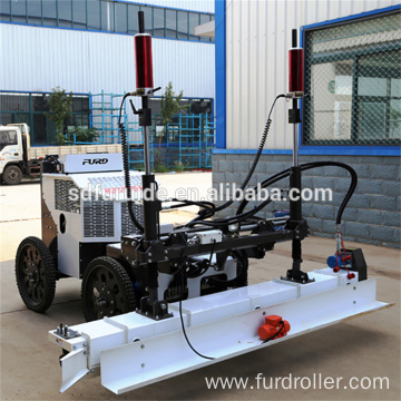 Solid Puncture-proof Tyre Floor Leveling Concrete Laser Screed Machine FJZP-220