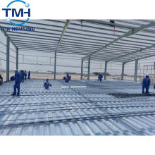 water-proof steel frame structure warehouse layout design