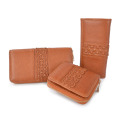 Multi Credit Card Holder Money Clip Leather Wallet