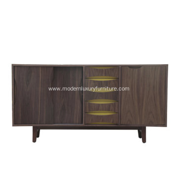 Finn Juhl Walnut Cabinet For Living Room