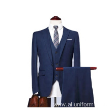 Wedding 3 Piece Men's Suit Blazer Suit Man