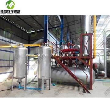 Automatic Crude Oil Refinery Equipment for Sale
