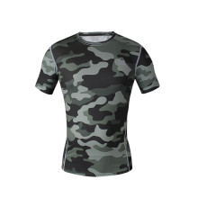 Bodybuilding Custom Men sublimated fitness shirt