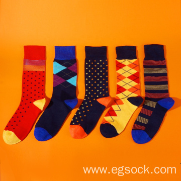 Cotton dress socks for men and women-C5