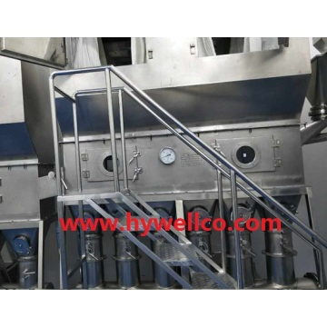 Continuous Horizontal Fluidized Bed Dryer