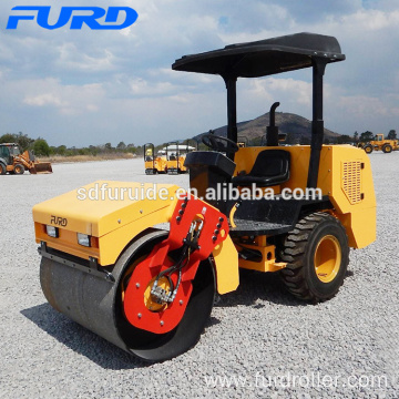 3 Ton Single Drum Vibrator Soil Compact Rollers (FYL-D203)