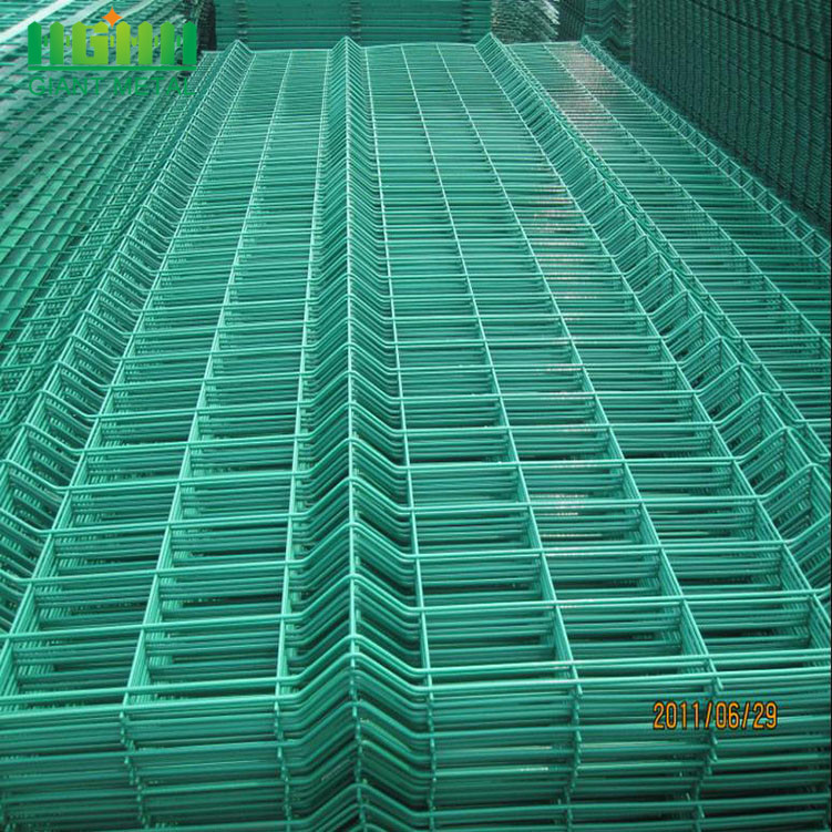 Coated 3D Curved Triangle Bending Fence Panel