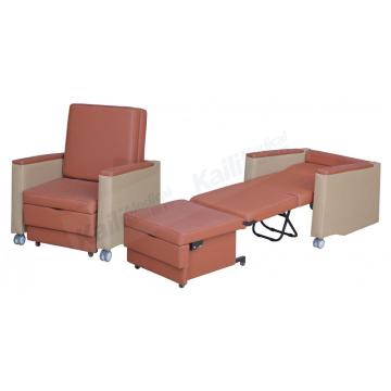 Hospital Folding Accompany Chair Medical Bed Chair