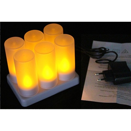 Led Tealight Candle Set with Remote Control