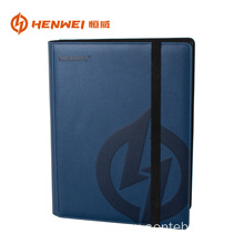 HengWei 9 pockets leather album protector card binder