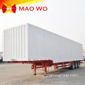 Customer Optional 3 Axle Dry Cargo Semi Trailer