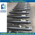 Excavator Spare Hydraulic Breaker  Parts Moil Type