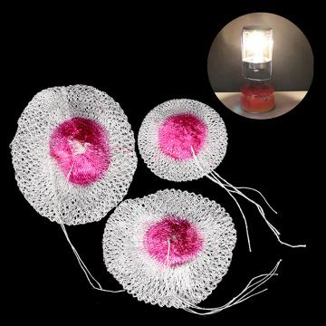 High Quality 10pcs 65/85/100mm Gas Lantern Mantle Kerosene Gas Lamp Cover Durable Mesh Mantle