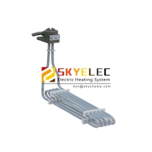 L-shaped Spiral PTFE Immersion Heater Electric
