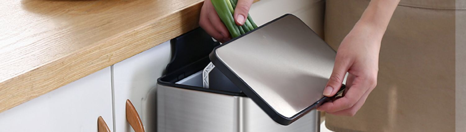 Slide Open Garbage Waste Bin