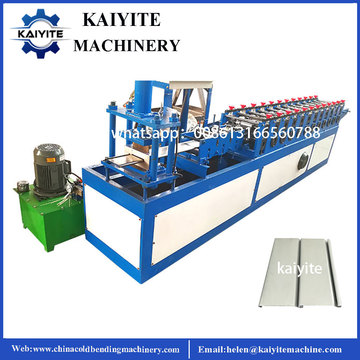 Metal Roller Shutter Door Rolling Forming Machinery