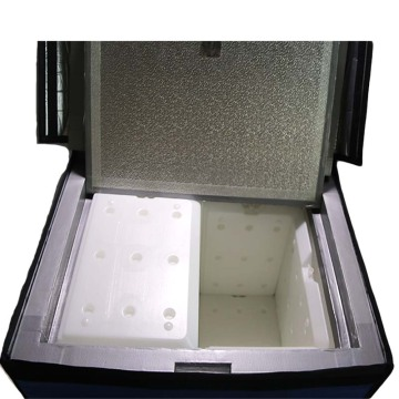 vacuum insulated panel portable cooler blood transport box