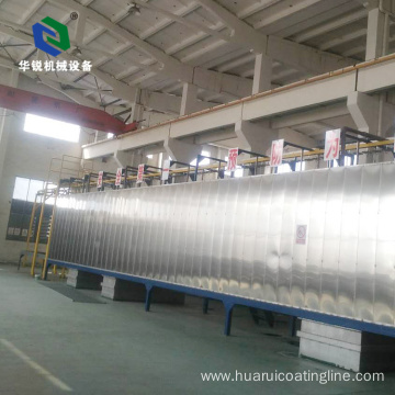Automatic Advanced Efficient High Despot Type Pre-treatment Coating Line with CE ISO9001