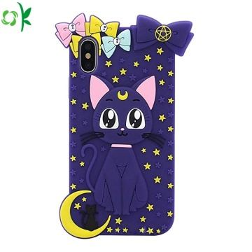 High Quality Cartoon Silicone Phone Case for Iphone