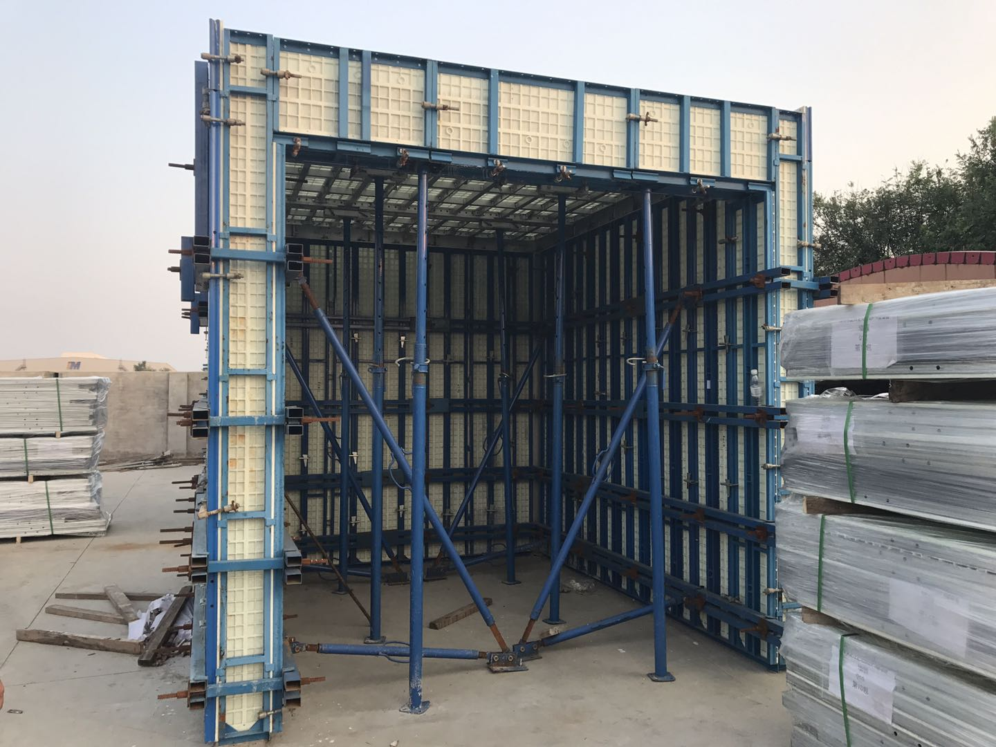 Timber Formwork for concrete