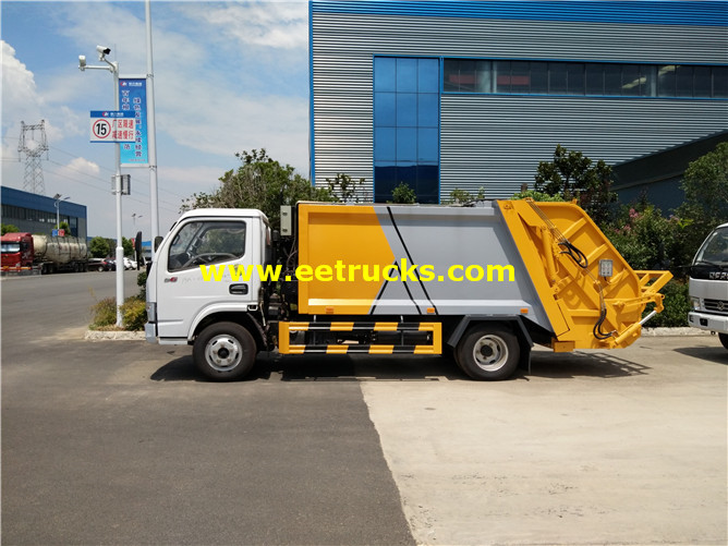 5 Ton Compressed Refuse Vehicles