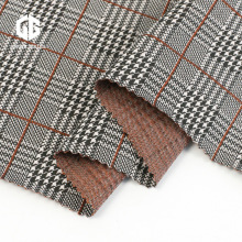 Plaid Yarn Dyed Nylon Rayon Jacquard Cloth