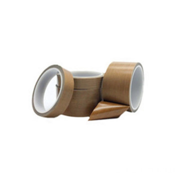 0.16mm Brown PTFE  Adhesive Tapes Without Liner