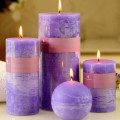 Private Label Decorative Fragrance Scented Pillar Candles