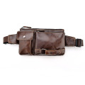 New Design Leather Strap Men Waist Bags