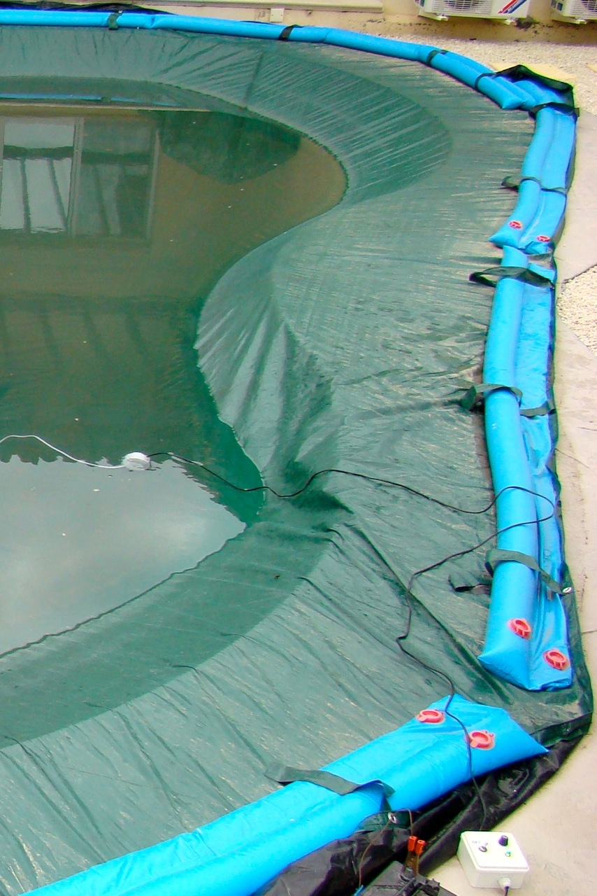 PE tarp for swimming pool