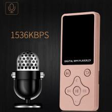 2018 Fashion Portable MP4 Lossless Sound Music Player FM Recorder walkman mini Support music, radio, recording, video