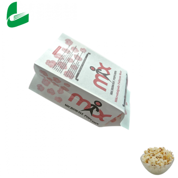 Fast food sealable packaging microwave popcorn paper bag