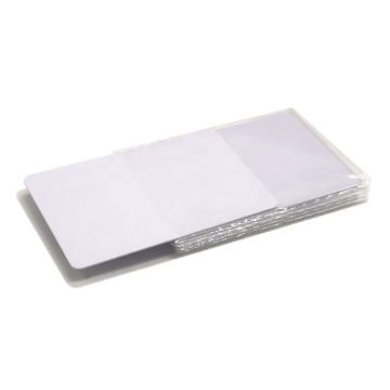 Custom PVC Smart IC Blank Contactless RFID Cards