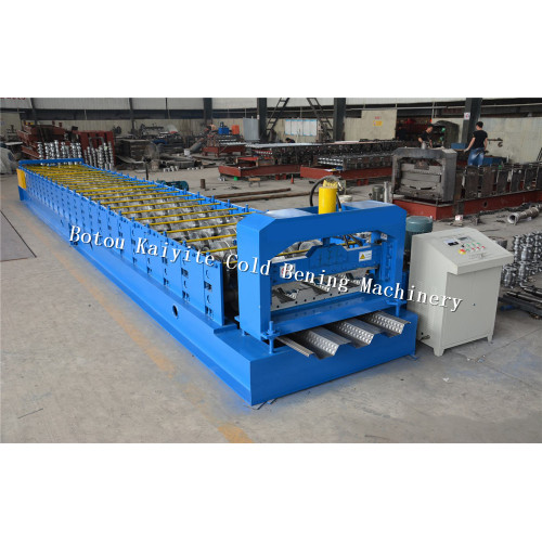 Warehouse Floor Decking Roll Forming Machinery