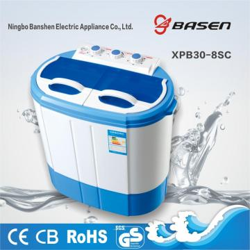 High Quality Semi Automatic 3KG Twin Tub Washing Machine