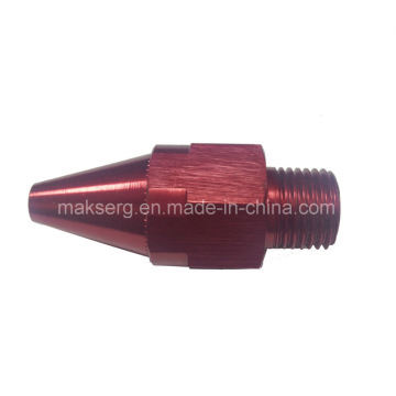 Anodized Aluminium Alloy Nozzle for Air Blowing Equipment